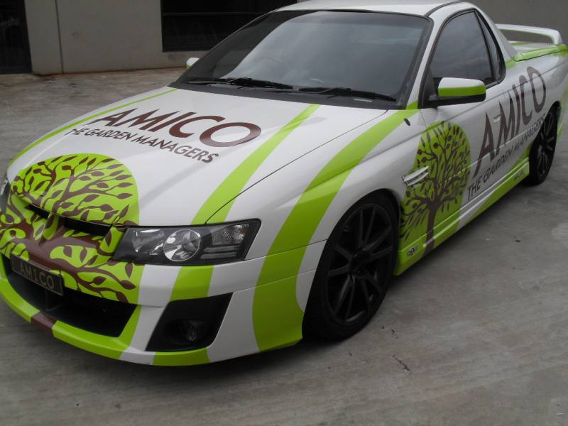 Super digital wrap on hsv ute